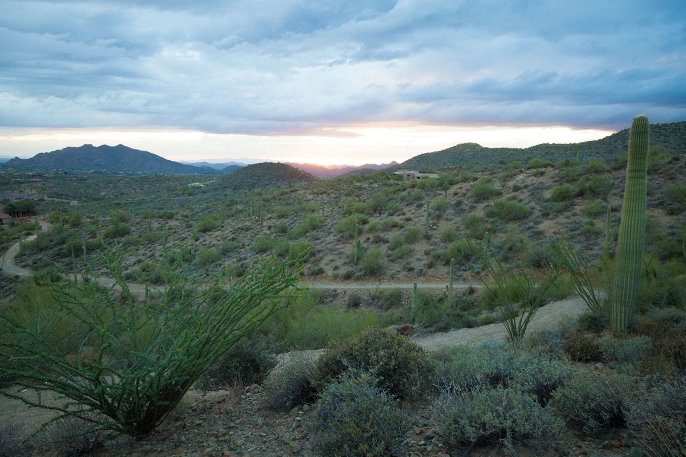 View Southwest from Lot 7 Carefree Ranch Homesteads