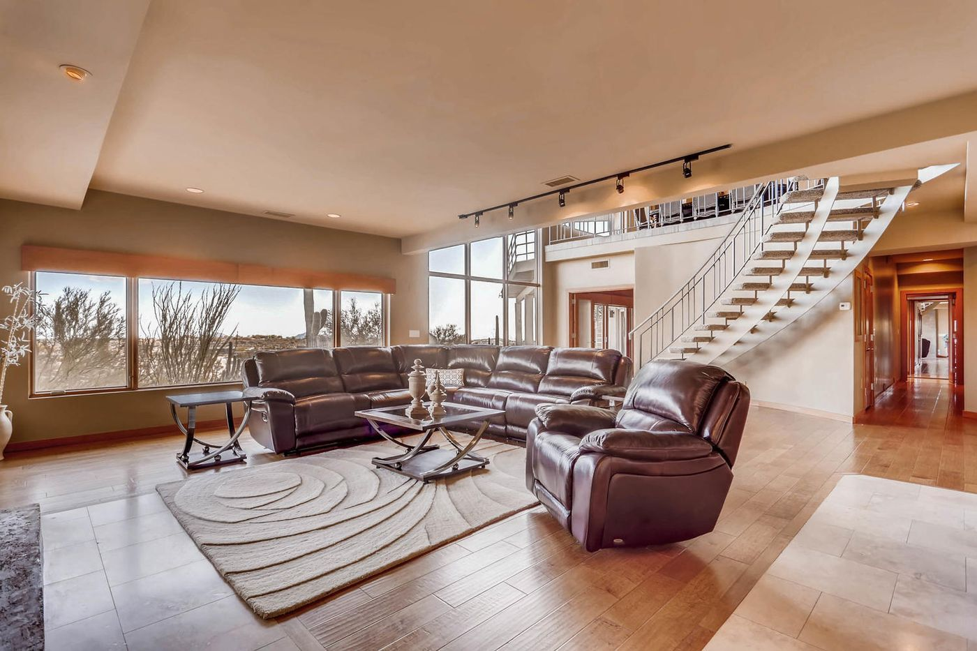 Views from Four Peaks to Town-large-018-17-Lower Level Family Room-1500x1000-72dpi